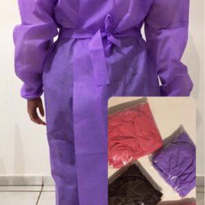 Avental com Propé Gramatura 40 - lilas